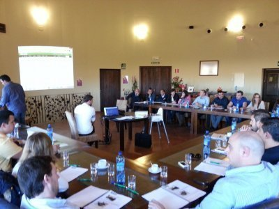 Reunión de trabajo - Otoño 2013