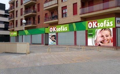 Nueva tienda OKSofás Lleida