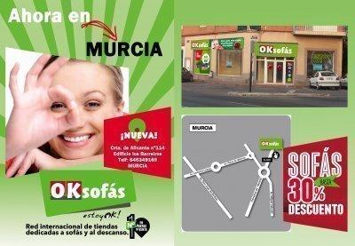 Nueva Tienda OKSofás en Murcia