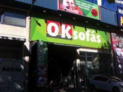 Nueva tienda OKSofás en San Sebastián de los Reyes
