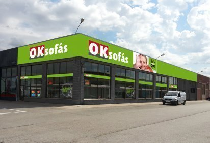 Nueva tienda OKSofás en Burgos