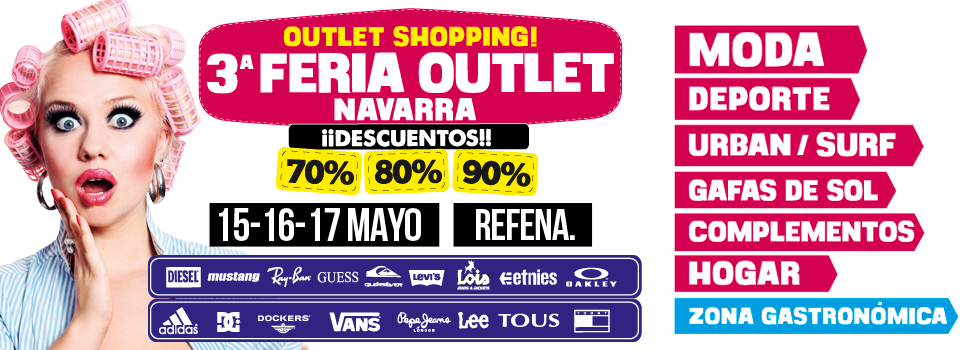 OKSofás en la outlet shopping! 3ª feria outlet navarra