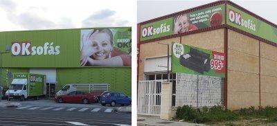 ¡OKSofás abre tiendas nuevas en Alicante y Sevilla!