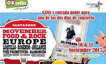 OKSofás en el Movember Food & Rock - 10 y 11 de Noviembre