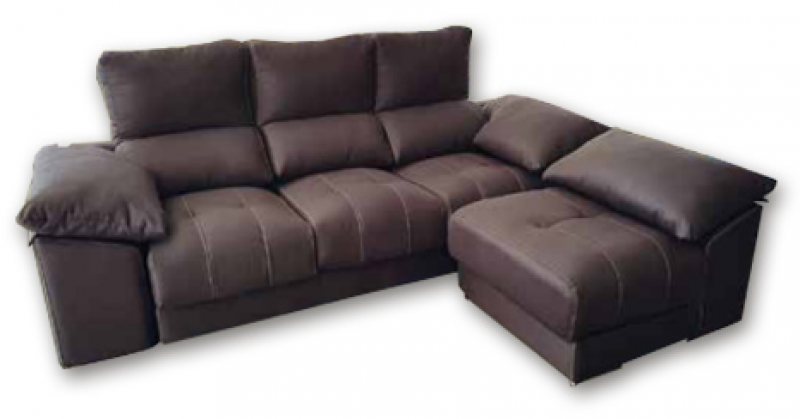 3 pl chaise longue intercambiable  2 pufs pequeños