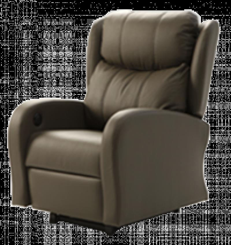 Sillón reclinable modelo Alcor, marron