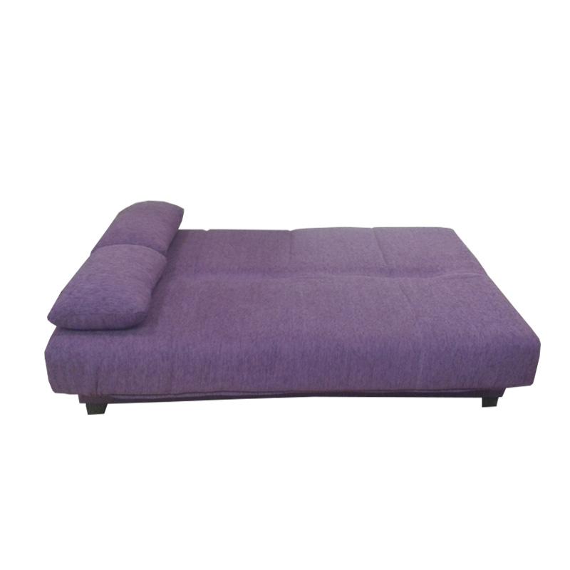 Sofá-cama con baúl interior y doble funda varios colores disponibles.