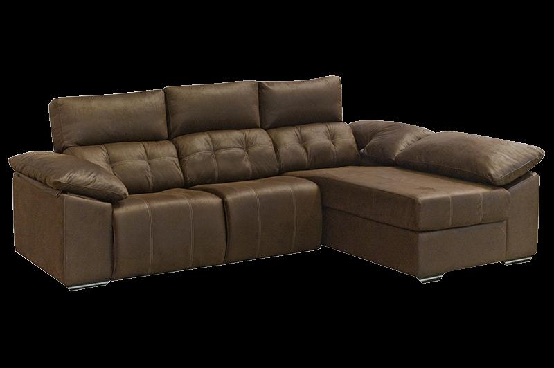 Chaiselongue modelo helsinki reclinable for Sofa con chaise longue