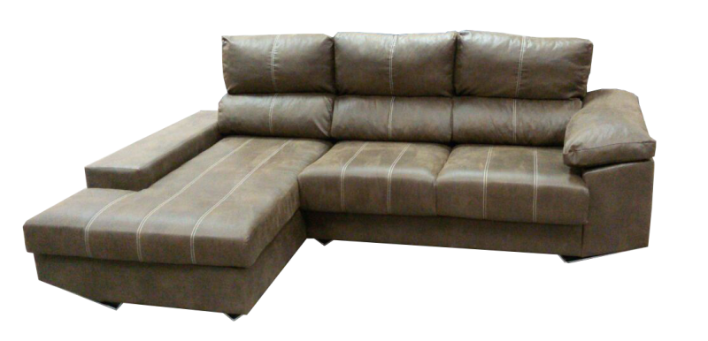Sofá de 3 plazas con chaise longue de diseño
