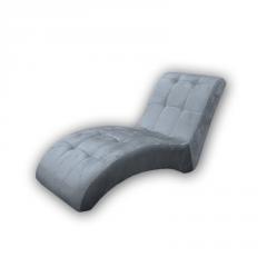 Butaca de diseño modelo Lune color gris
