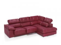 Sofá 3 plazas con rincón chaiselongue