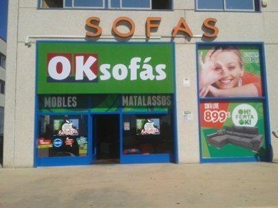 tienda sofas Cabrera de Mar