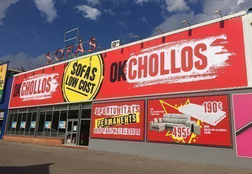 tienda sofas Terrassa Chollos