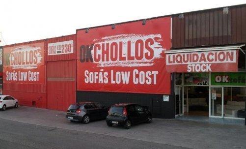 tienda sofas Castellón - OKchollos (outlet)